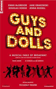 Guys and Dolls - Wharton Center, 1984-1985 Season