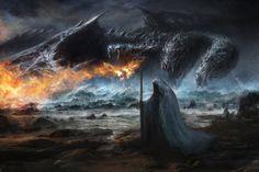 Transformers: The Last Knight Concept Art by Chris Cold Fantasy World, Dark Fantasy, Fantasy Art, Tf Art, Water Dragon, Dragon Ball, Last Knights, Warhammer Art, Transformers Art
