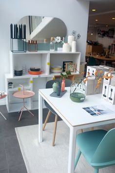 Design District Leuven T12 hay Dining Tables, Corner Desk, Tiny House, Decoration, Interior, Garden, Kitchen, Furniture, Design