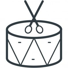 Drum Web Icon Simple Design - Stock Vector , #Sponsored, #Icon, #Web, #Drum, #Simple #AD 4th Of July Clipart, Simple Designs, Drums, Clip Art, Illustration, Simple Drawings, Percussion, Drum, Illustrations