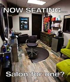 My dream salon for myself!