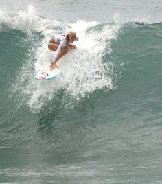 Bethany Hamilton Surfs The Biggest Wave Of Her Entire Life