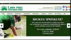 Sprinkler Repair Castle Rock CO Call us @720.221.3606 Or 719.963.6267 http://www.lawnpros.biz/sprinkler-repair-castle-rock.html
