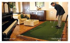 Pagine 8 e 9 Brochure Golf In Green Makers