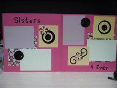 Sisters created by Marye Bird passionatlycrafty.blogspot.com
