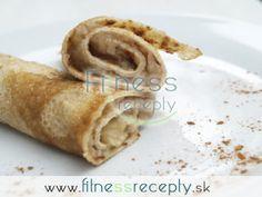 Špaldové palacinky s jablkovou náplňou Peanut Butter, Yummy Food, Sweets, Lunch, Healthy Recipes, Fitness, Cooking, Cake, Ethnic Recipes