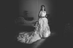 Wedding dress | Lewis & Clark College | Portland, Oregon | ©Natalie Puls Photography (wedding photographer)