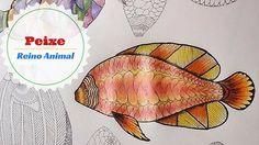 Livro de Colorir Reino Animal - Pintando o Peixe #2 | Luciana Queiróz