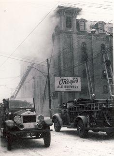 Toronto fire...1940's.