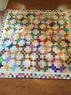 Garlic Knots made by Cindy Black Lucas (a Bonnie Hunter design)