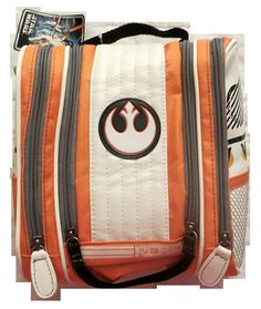 """Star Wars Rebel Alliance Travel Bag. Offically Licensed Product. Features Rebel Alliance Logo. Great For Jedi and Rebels alike. Measures Approximately 9""""H x 8.5""""W x 4""""D."""