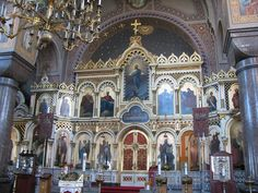 <3 Orthodox Christian Church Iconostasis