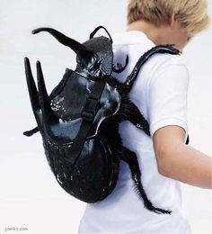 bug backpack...sweet!  My kids have wanted one since they saw Donna!