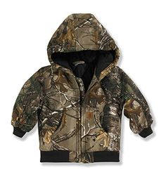 19209d12bd472 Carhartt Boy's Camo Active Jacket >>> Continue to the product at