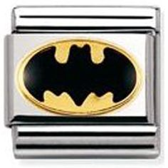 Buy from one of the UK's largest official Nomination stockists with over charms in stock and we aim to dispatch within Nomination Charms, Nomination Bracelet, Batman Free, Floating Charms, My Wish List, All That Glitters, Superhero Logos, Jewlery, Girly