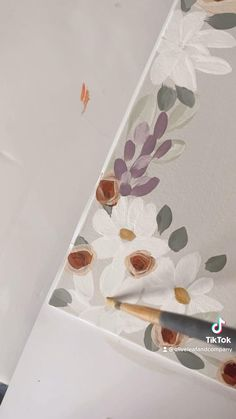 Scripture Painting, Scripture Art, Bible Art, Canvas Art Quotes, Diy Canvas Art, Painting Flowers Tutorial, Flower Art Drawing, Watercolor Paintings For Beginners, Bible Covers