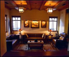 arts and crafts living room decorating ideas arts and crafts ...