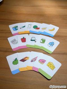 The groceries game | Digitprop - Paper design