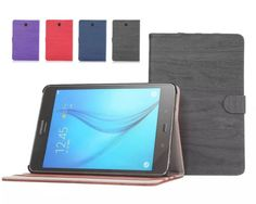 For-Samsung-Galaxy-Tab-A-Series-Tablet-Leather-Case-Protector-Cover-Wood-Style