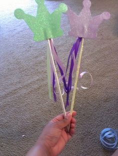 Diy princess wand!