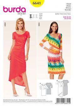 Burda B6641 Women's Dress Sewing Pattern