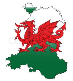 Outline of Wales with a Welsh Dragon isolated on white , Welsh Dragon, Cymru, King Henry, Birthday Crafts, Wales, Abstract, Outline, Stained Glass, Blood