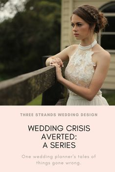 What can happen when you don't properly anticipate transitions? Hopefully you have a wedding coordinator, and you won't even notice! Wedding Coordinator, Wedding Planner, Plan Your Wedding, Wedding Day, Strands, Wedding Designs, One Shoulder Wedding Dress, Posts, Wedding Dresses