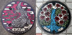 Japanese Manhole Covers | Huckberry