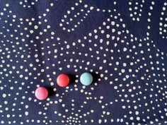 blueprint, indigo pattern Originální autorská modrotisková látka. Ruční tisk.