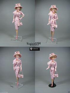 Tenue Outfit Accessoires Pour Fashion Royalty Barbie Silkstone Vintage 1350 | eBay