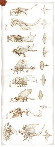 Prehistoric Dragons 2 by IRIRIV on deviantART