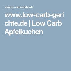www.low-carb-gerichte.de | Low Carb Apfelkuchen