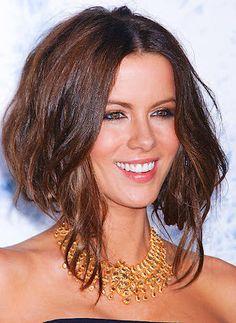 cabello corto atras y largo adelante ondulado ombre - Buscar con Google