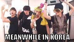 Meanwhile In Korea  .... ????????