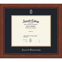 Product: Averett University Diploma Frame