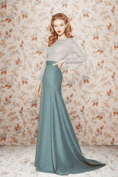 Sergeenko. I'd wear this skirt everyday. Things like this make me so happy I'm a girl. I'd just flaunt my femininity to the fullest,on the daily, like it's nobody's business, humph!