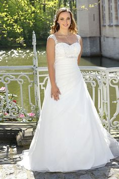 d258627466 Plus size wedding dress from the 2017 Ladybird collection Country Wedding  Dresses