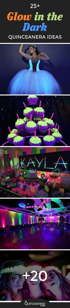 With neon being a huge trend this past year, it's no surprise that having a glow in the dark quinceanera will be the a thing in 2017! - See more at: http://www.quinceanera.com/decorations-themes/25-glow-dark-quinceanera-ideas/#sthash.75LuQ21L.dpuf