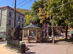 The center square in Jim Thorpe, PA (formerly Mauch Chunk)...
