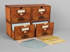 Vintage Catalog Cards for Literary Classics from the Semi-Secret Archive of the Library of Congress | Brain Pickings