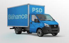 free-truck-mockup-layered-psd