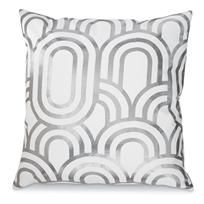 Pillow - grey and white