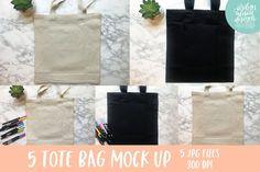 Tote Bag Bundle Mock Ups, Black and Tan Tote Bag Mockup Tan Tote Bag, Bag Mockup, School Design, Design Bundles, Design Elements, Free Design, Reusable Tote Bags, Aspect Ratio, Backgrounds
