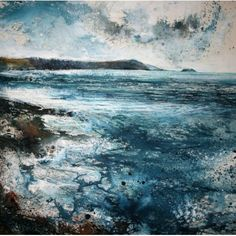 """Here we stand, on a Rocky Shore""  by Stewart Edmondson"