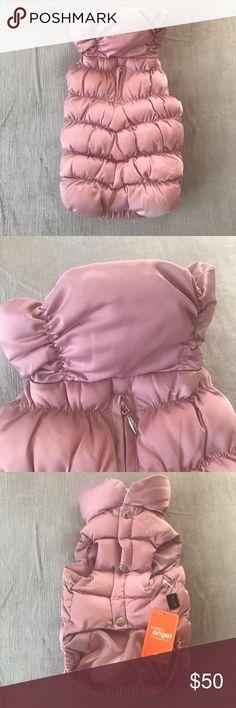 pink puffer vest medium puppy angel. pink puffer vest. size medium. posh puppy boutique. perfect condition. nwt. Other