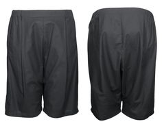 the black unisex COSY II shorts out of 100% organic cotton by format available at WESEN