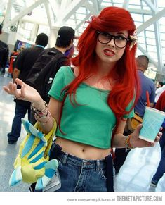 Funny Ariel | funny-hipster-Ariel-Little-Mermaid