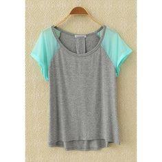 Chiffon Green Sleeve T-shirt from Bblythe ($21.90)