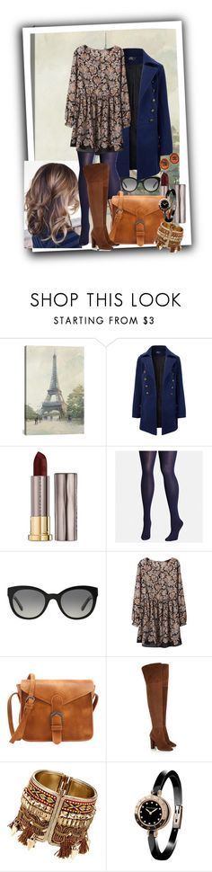 """""""Untitled #127"""" by jonestyle ❤ liked on Polyvore featuring iCanvas, Urban Decay, Avenue, Burberry, Giuseppe Zanotti, Bulgari and Chanel"""
