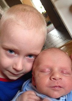 Karol and Konrad :)  #apptester #children #kidsapp #parents #family